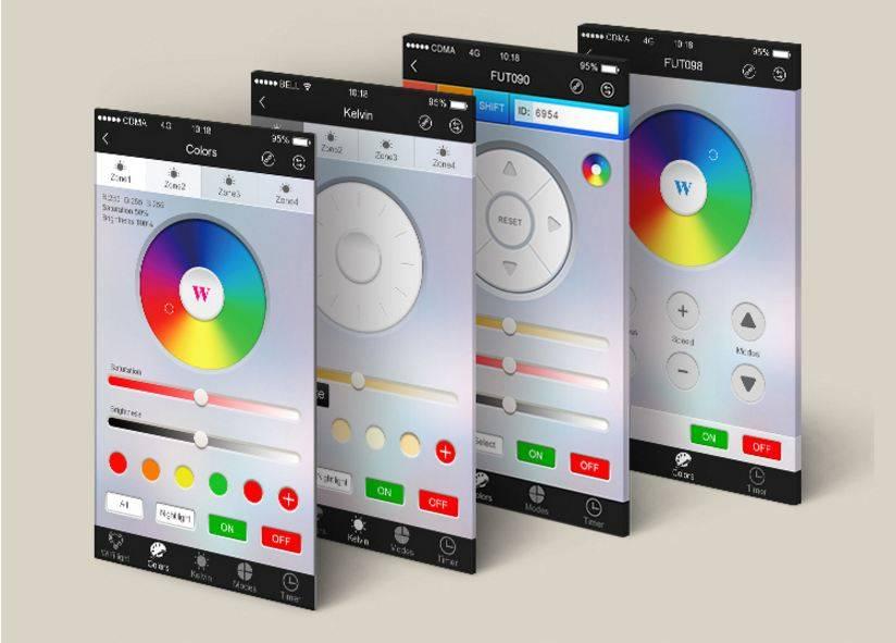 Wifi Box met APP: Wifi LED controller voor Wifi LED lampen en Wifi ledstrips