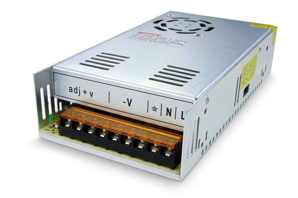 Schakelende Voeding DC 24 Volt 360 Watt 15 Ampère
