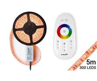 Mi·Light RGB LED strip 5 meter + Remote & Adapter, Complete set!