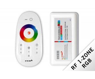 RF RGB ledstrip controller met RF afstandsbediening 18A