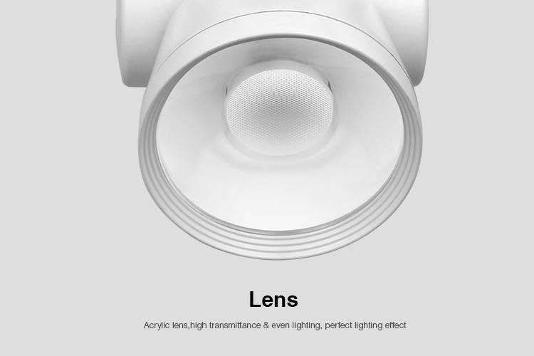 Wifi Rail Track Light Alpha Lite Mi-Light 25W RGBW. Op afstand bedienbaar. 350° & 180° draaibaar