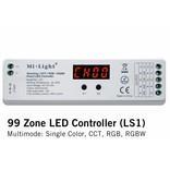 LS1 Mi-Light Multimode 99 zone LED controller (enkele kleur, dual white, rgb, rgbw)