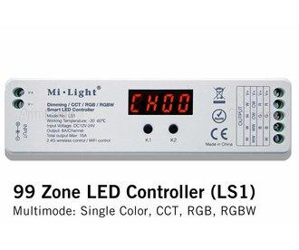 Mi·Light Milight RF Controller | Geschikt voor meeste type led strips | 12-24V 4x6A