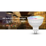 Mi·Light GU5.3 LED spot Mi-Light 4W RGBW & Dual White 12V MR16 Halogeenvervanger op afstand bedienbaar