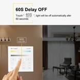 MiLight CCT CT opbouw Dual White RF Touch Dimmer, AAA batterij