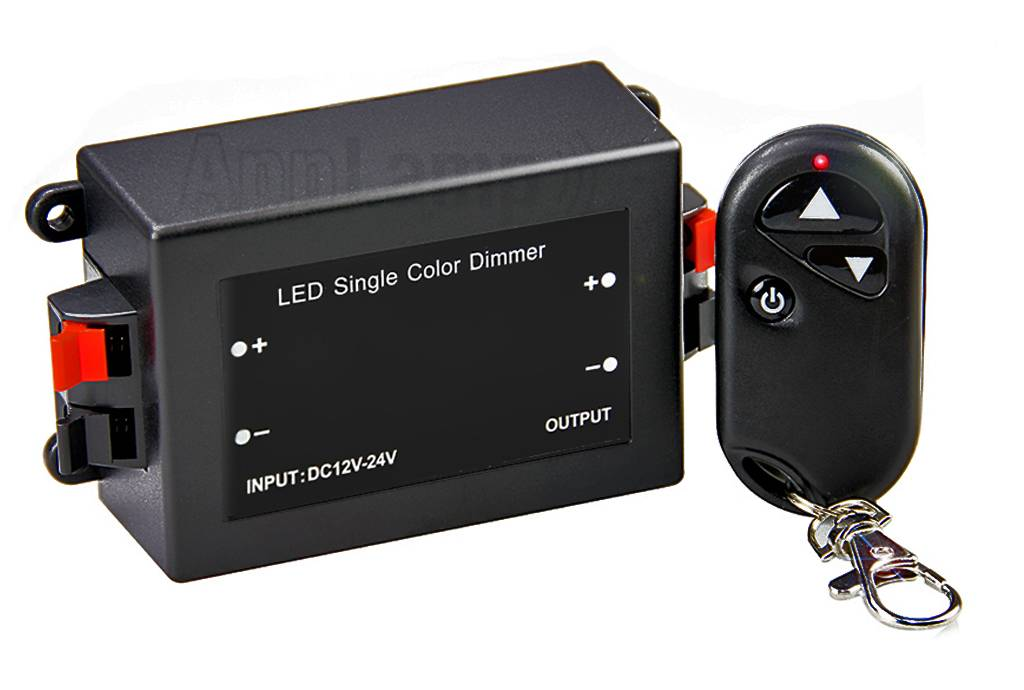Car Key Led Dimmer met RF Key Remote, 8A, 12V-24V