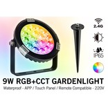 Mi·Light Tuinspot Mi-Light 9W RGBW 220V IP65 LED Verlichting