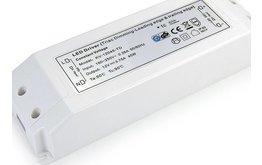 Dimbare LED Trafo 12V en 24V - Dimbare electronische LED voeding 12 tot 24 Volt