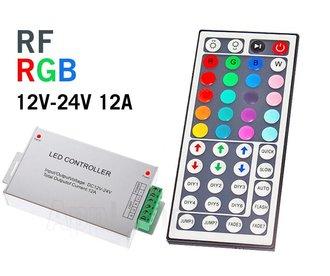RGB RF Controller met Afstandsbediening | 12-24 Volt 12 Ampère