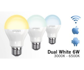 Mi-light 6W Dual White E27 Wifi LED Lamp