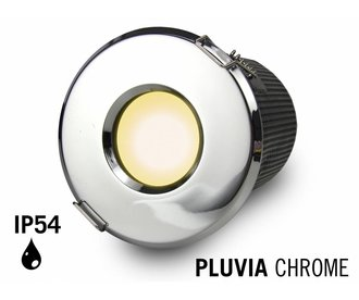 Mi·Light GU10 LED Inbouwspot Armatuur PLUVIA. IP54 Spatwaterdicht. Chroom
