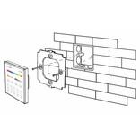 Mi-Light Inbouw RF Touch Dimmer Paneel 4-kanaals, Witte Verlichting 220V