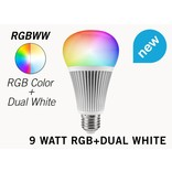 Mi·Light 9 Watt RGB+Dual White RGBWW Mi-Light LED lamp