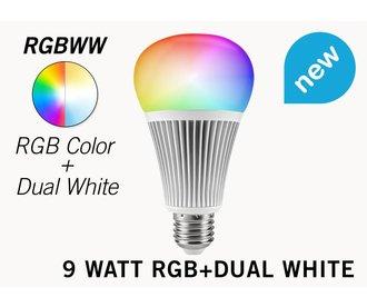 Mi·Light 9 Watt RGB+Dual White LED lamp