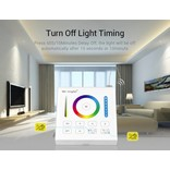 Mi·Light MiLight RGB+ DualWhite (RGB+CT) Touch Wandbediening Opbouw, 1-Zone, RF, 2xAAA