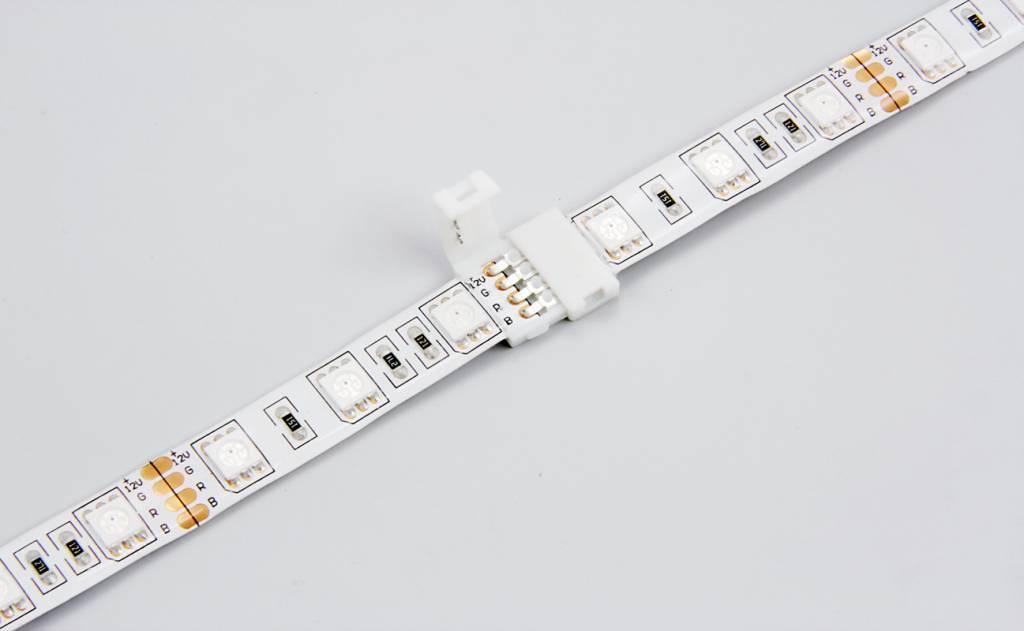 Connector RGBW Led Strips voor 12mm | 5 Contacten | Soldeervrij