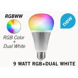Mi·Light Set met 9W RGBWW Kleur + Dual White Mi-Light LED lampen met Afstandsbediening
