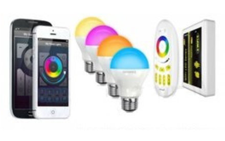 Wifi Lamp Sets met App + Afstandsbediening
