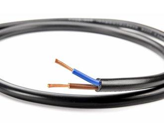 2-aderige Ronde Kabel 15 AWG
