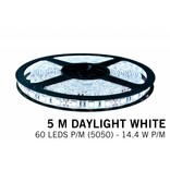 Mi·Light Koel Wit Led Strip met afstandsbediening | 60 Leds pm Type 5050 12V 14,4W pm IP65