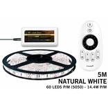 Mi·Light LED strip set Neutraal wit 300 leds 72W 12V 5M, RF dimmen