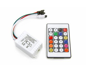 SPI Dream Color Digitale LED strip controller met IR remote