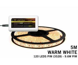 Mi·Light Warm Wit Led Strip | 120 Leds pm Type  2835 7,6W pm IP65 uitbreidingset