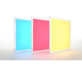 RGB+CCT LED Paneel 60x60cm 36Watt. Kleur + Dual White (2700-6500K)   1 stuk