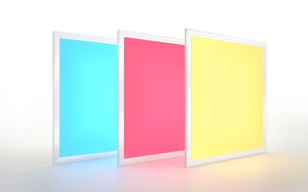 Mi·Light RGB + Dual White LED Paneel 60x60cm 36Watt. Kleur + Dual White (2700-6500K) 1 stuk
