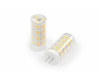Dimbaar LED G4 steeklampje, Warm Wit 2800K, 3,2Watt, 12 tot 24 Volt AC/DC