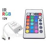 RGB IR Controller met Afstandsbediening | 12 Volt 6 Ampère