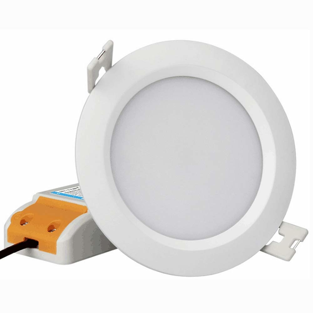 Mi·Light Mi-Light Set 6W waterdichte spot RGBWW Kleur + Dual White LED Inbouwspot 220V + Afstandsbediening.  IP65  Ø108mm