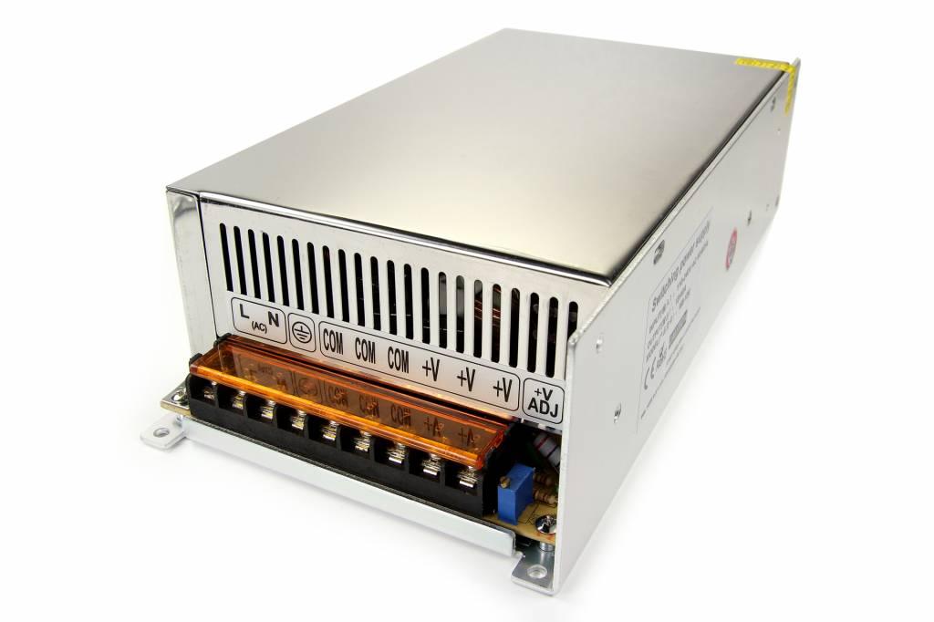 Schakelende Voeding DC 24 Volt 600 Watt 25 Ampère