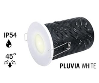 Mi·Light GU10 LED Inbouwspot Armatuur PLUVIA. IP54 Spatwaterdicht. Mat Wit
