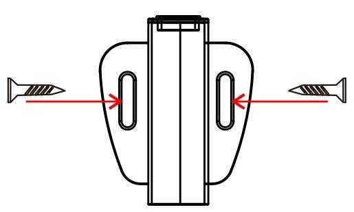 LED PIR bewegingssensor op/onderbouw (40sec), afstand < 2M, 4A 12V-24V