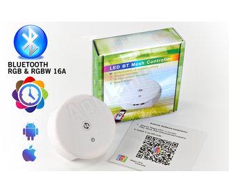 LED Magical RGB & RGBW Bluetooth Controller | 12-24 Volt 4x4 Ampère