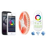 Wifi RGBW ULTRA LED strip met kleur + warm wit, 4 in 1 LED