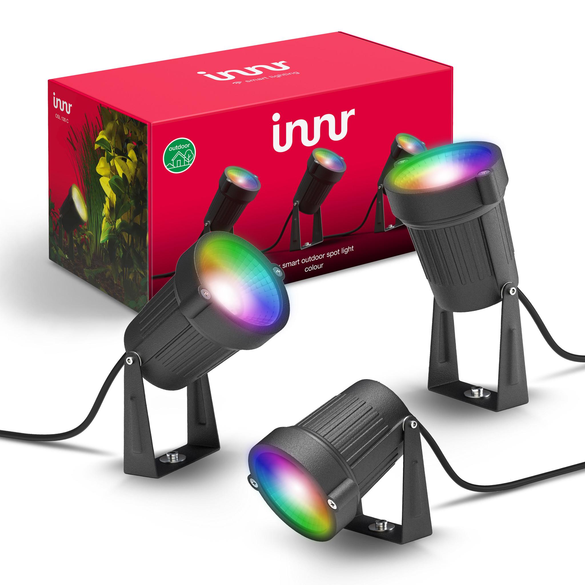 Innr slimme verlichting Outdoor Spot Light 130C 3-pack (Color) online kopen