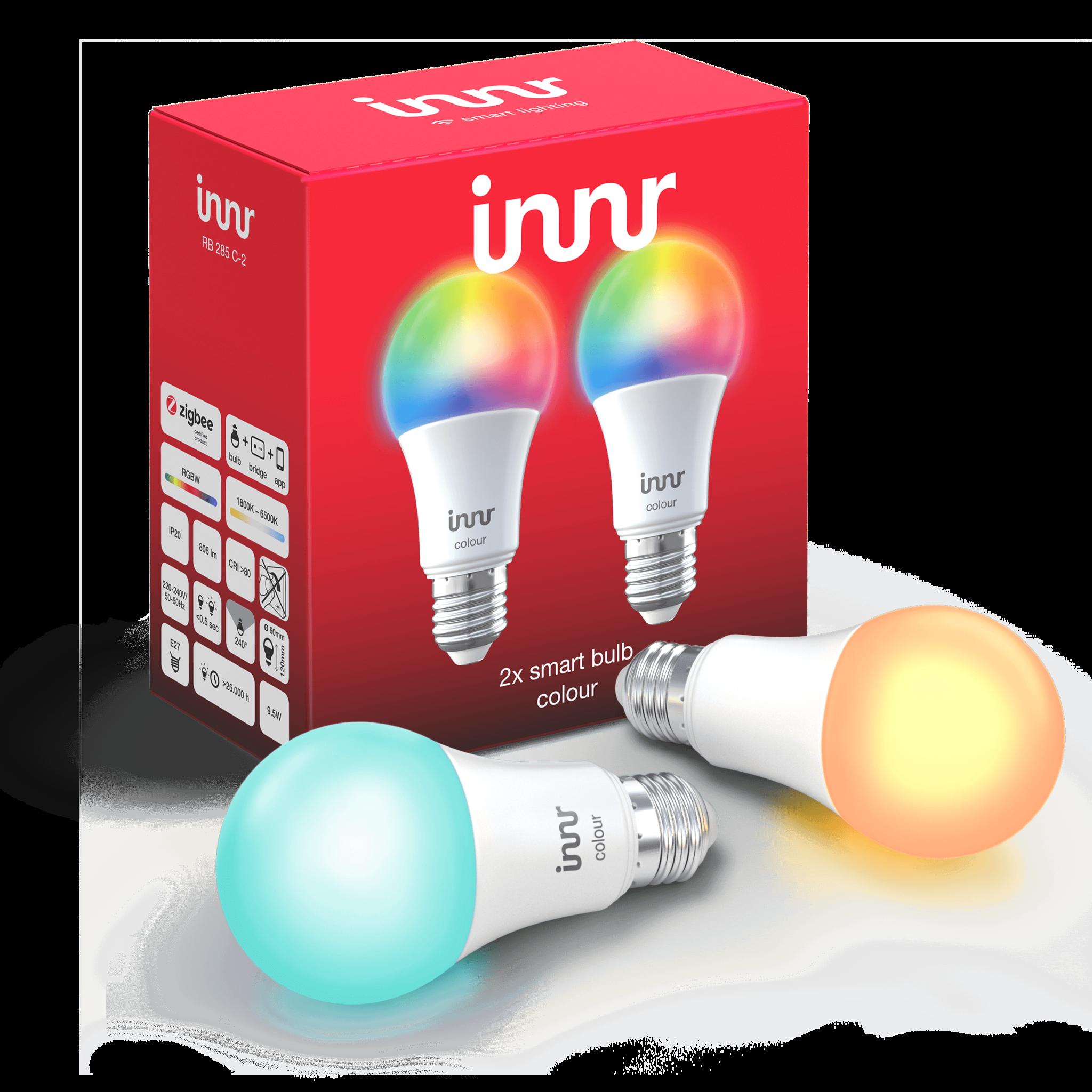 INNR INNR  Zigbee Colour E27 RGBWW Duo Pack RB 285 C-2