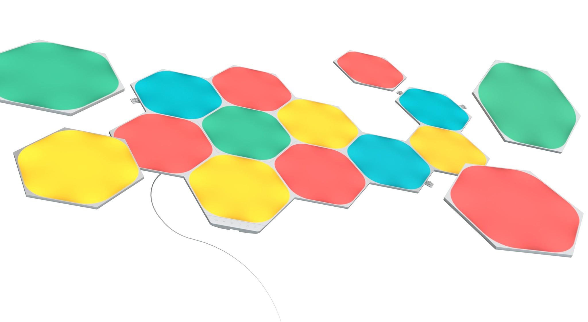 Nanoleaf Nanoleaf Shapes Hexagons Startset Kit 15 panelen 15PK