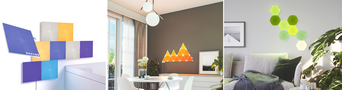 Nanoleaf Canvas - Aurora - Hexagon Shapes Interior