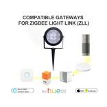 GLEDOPTO GLEDOPTO Zigbee 3.0 Kleur+ Dual Wit Tuinspot | RGB+CCT 12 Watt 230V | GLEDOPTO GL-G-001ZS
