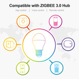 GLEDOPTO GLEDOPTO Zigbee 6 Watt Kleur+Dual Wit | E27 6W 230V |  ZLL Mesh  | GL-B007ZS
