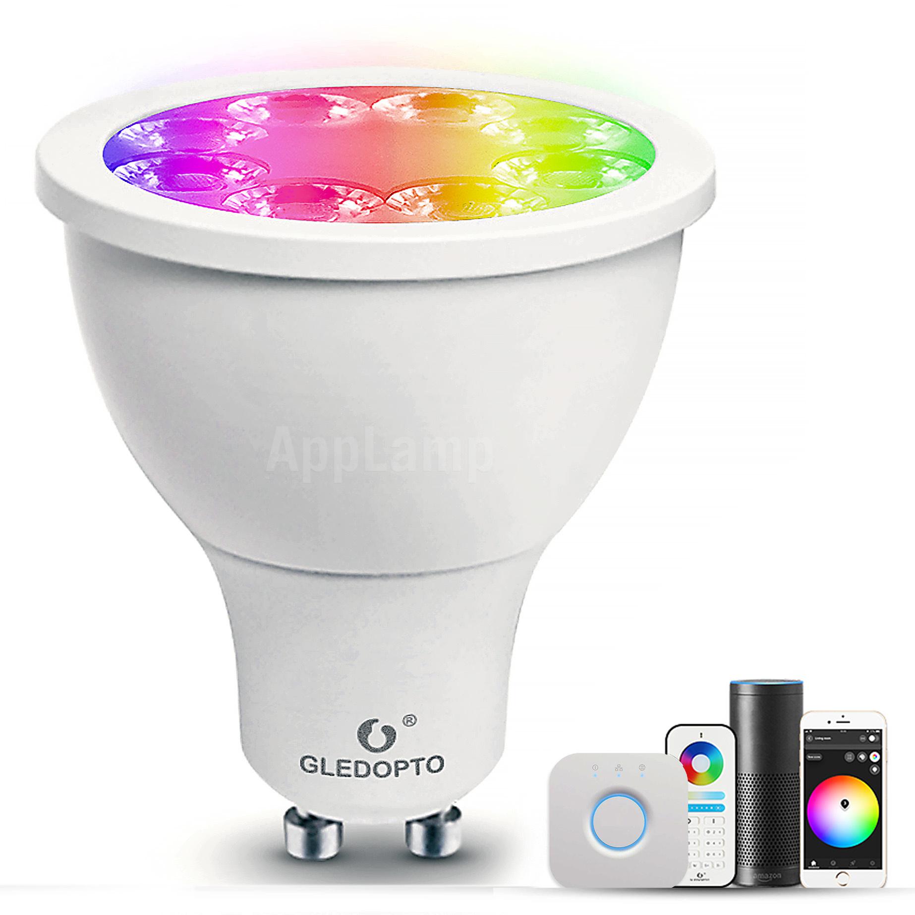 GLEDOPTO GLEDOPTO Zigbee 4 Watt Kleur+Dual Wit Spotje | GU10 4W 230V |  ZLL Mesh  | GL-S-007ZS