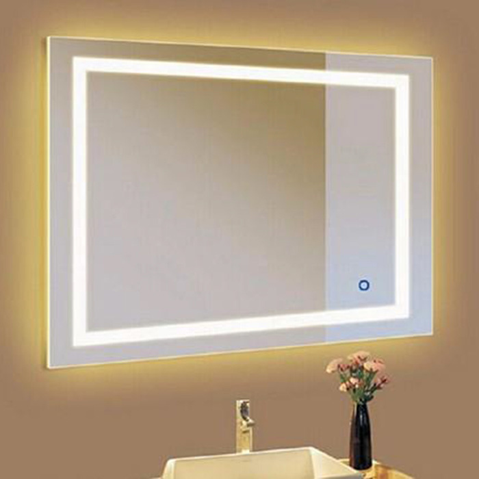 Touch aanraak LED dimmer switch voor spiegel - met blauwe LED