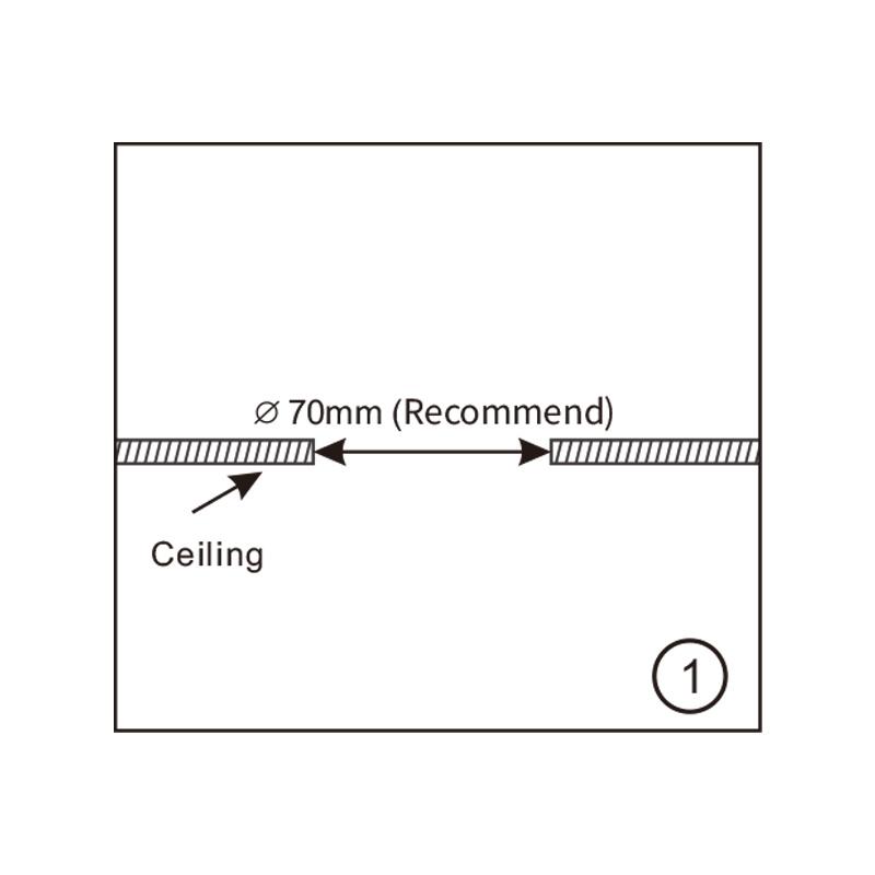 230 Volt inbouw PIR bewegingssensor 1000W | 10 sec tot 7 min | 10m bereik