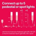 INNR INNR Tuin Zigbee Lichtpaaltjes 3-pack pedestal 4.5W RGBWW   OPL 130 C
