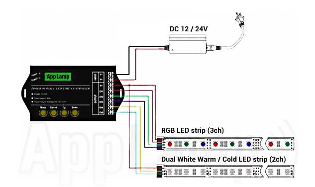 TC420 LED timer connection diagram