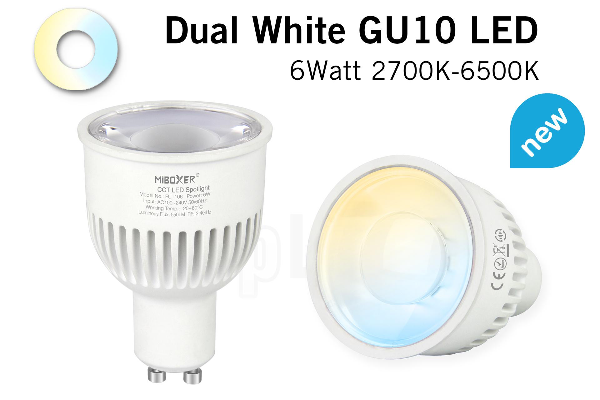 Mi-light 6W Dual White 220V GU10 LED Spot