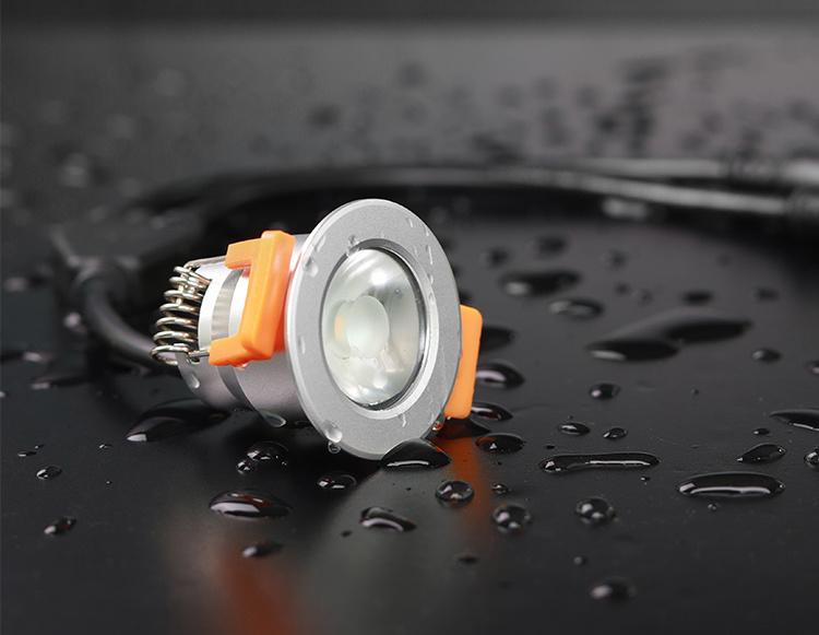 Mi·Light Miboxer 3W Dual White Mini LED spotje.  Waterdicht IP66, 12Volt, Ø 42mm